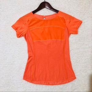 Lululemon Ran Fast Track Top in Orange Size 4